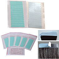 60pcs/bag Surper Hair Extensions Tapes  Blue and Strong Adhesive Double SidesHair Tapes  Extenions Tools