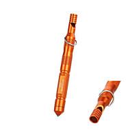 venkovní voděodolný tyč hořčík pazourkový, oheň startér s píšťalkou&alkohol bavlna - (orange&černá)