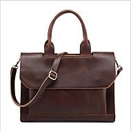Women PU Casual / Outdoor Shoulder Bag Brown / Black