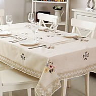 1 100% Coton Nappes de table
