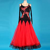 Shall We Ballroom Dance Dresses Women Crystals/Rhinestones 1 Piece Dress