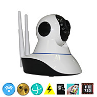 64G Storage WIFI Alarm CCTV IP Camera Wireless Home Security System HD 720P P2P Onvif Pan Tilt IR Night Vision