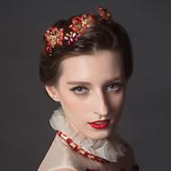 Women's Rhinestone / Crystal / Gold Headpiece - Wedding Headbands 1 Piece