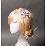 Pique cheveux Casque Mariage / Occasion spéciale / Casual Dentelle / Strass / Tulle Femme Mariage / Occasion spéciale / Casual 1 Pièce