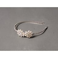 Women's Rhinestone / Imitation Pearl Headpiece - Wedding / Special Occasion / Casual Headbands 1 Piece