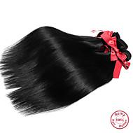 Hiukset kutoo Malesialainen Straight 1 Kappale hiukset kutoo