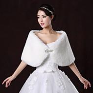 웨딩 / 파티/이브닝 모조 모피 결혼식 랩 숄 민소매