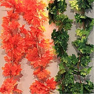 Poliéster Plantas Flores artificiais