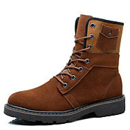Men's Shoes Outdoor / Athletic / Casual Suede Boots Brown / Red / Taupe