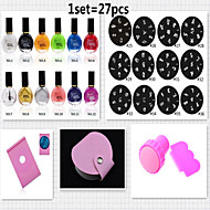 Nail Printing Template Packages(27pcs/set)