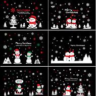 Christmas / Fashion / Holiday Wall Stickers Plane Wall Stickers , PVC 100cm*72cm
