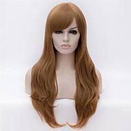 mannekiinit Euroopassa ja Amerikassa on värinen pitkät hiukset peruukki