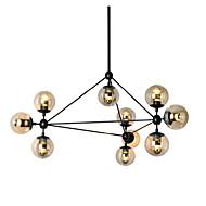 Max 60W Lámparas Araña ,  Retro Pintura Característica for Cristal MetalSala de estar / Dormitorio / Comedor / Habitación de