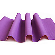 TPE Yoga Mats 183*61*0.6 Non Toxic (1/4 inch) 6 Red / Green / Orange / Purple / Dark Blue #