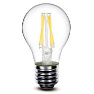 1 pç SHENMEILE E26/E27 4W 4 COB 400 LM Branco Quente A60(A19) edison Vintage Lâmpadas de Filamento de LED AC 220-240 V
