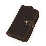 Herren-Alltag-Brieftasche-Kuhfell