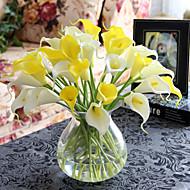 PU Lírios Flores artificiais