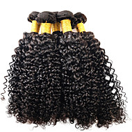 ANNA Brazilian Afro Curly Wave Hair Weaves 1pcs Virgin Hair Weavings Kinky Curly Wave Hair Extensions 100g/pcs