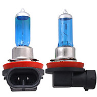 2 X H11 White Headlight Bulb Lamp Head Light 5000K 55W