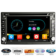 2 Din Universal Car DVD GPS Player With Bluetooth FM Phone Connect for all Car Size 178*100 mm