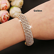 Lovely Alloy with Crystal Bracelet More Colors