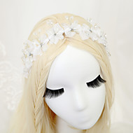 Women's / Flower Girl's Crystal / Alloy / Chiffon Headpiece - Wedding / Special Occasion Headbands 1 Piece