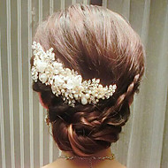 Handmade Beautiful Flowers Wedding Headpiece