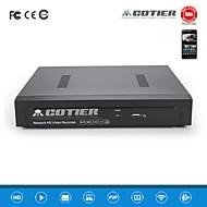 cotier®4ch 1u poe NVR 1080p / 1ch vga + 1ch hdmi / ONVIF / NVR N4 / 1u-poe