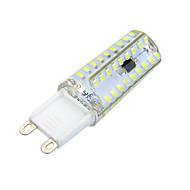 5W / 7W G9 Luminárias de LED  Duplo-Pin Encaixe Embutido 72 SMD 3014 600-700 lm Branco Quente / Branco Frio Regulável / DecorativaAC