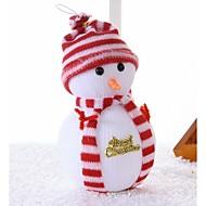 joulu lumiukko joulukuusi kohtaus koristelu tarvikkeet nukke