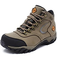 Unisex Athletic Shoes Spring / Summer / Fall / Winter Comfort Nappa Leather Outdoor / Athletic / Casual Khaki Hiking / Trail Running