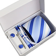 Men's Business Tie 5 Pieces a Set with Box(8CM)