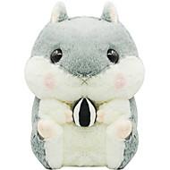 Furry qute harmaa hamsteri laukku