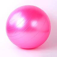55cm Fitnessball PVC Gelb / Rot / Rosa / Grau / Blau / Purpur Unisex Also Kang