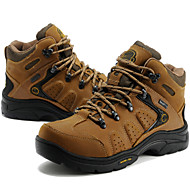Men's Hiking Shoes Leather Brown