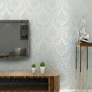 Arttop®Floral Wallpaper Classical Wall Covering , Non-woven Paper Phantom Soundproof Non-Woven 3D Wallpaper