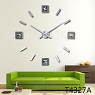Inovador Moderno/Contemporâneo Relógio de parede , Outros Acrilico / Alúminio / Metal 40 inch