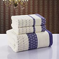 Badlaken SetJacquard Hoge kwaliteit 100% Katoen Handdoek