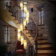 3W מנורות תלויות ,  מסורתי/ קלאסי / סגנון חלוד/בקתה / וינטאג' / גס Electroplated מאפיין for סגנון קטן מתכתחדר שינה / חדר אוכל / חדר עבודה