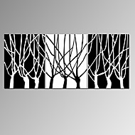 VISUAL STAR®Black and White Branch Canvas Print Abstract 3 Panel Canvas Artwork for Home Decoration Ready to Hang