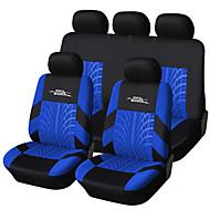 כיסוי מושב המכונית autoyouth רקמת מותג רוב המכוניות בכושר אוניברסליות להגדיר מכסה עם מסלול צמיג מושב המכונית סטיילינג פרטים
