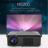vivibright® Projektor PRS200, Brilliantcolor Heimkino-Projektor 2500 Lumen bis zu Full-HD-dynamischen decode