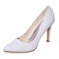 בלרינה\עקבים - נשים - נעלי חתונה - שפיץ - חתונה / מסיבה וערב - שחור / שנהב / לבן