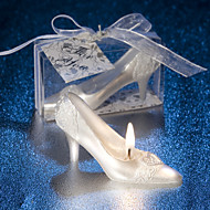 Love Gift The Candle Romantic Ideas In Return A Candle Cinderella'S Glass Slipper Small Candle