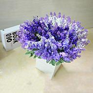 Polyesteri Vaaleansininen Keinotekoinen Flowers
