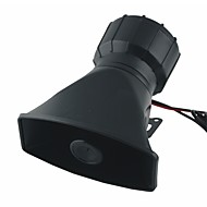 60W DC 12V 5 hangok elektronikus sziréna tölcséres mikrofon autók