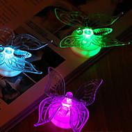 5.6 * 3.4 * 6.6cm noel renkli akrilik parlak kelebek enerji tasarruflu oyuncak hediyeler ışık lamba led 1pc