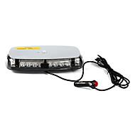 Fahrzeugdach gelb 24 geführt Notfall Warnung Blitzlicht-Lampe Magnetfuß