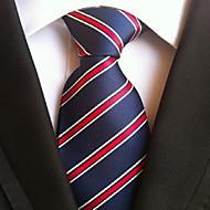 Cravate Vintage / Mignon / Soirée / Travail / Décontracté Polyester,Homme Rayé Toutes les Saisons