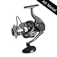 RS9000 All Metal Casting Fishing Reel 4.9:1 12+1 Ball Bearings Spinning Reels Sea Fishing Long For Big Fish